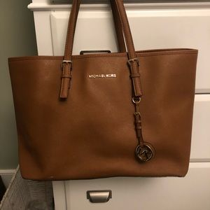 Michael Kors Chesnut Brown Tote Bag